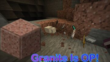 Granite is OP! (fixed) Minecraft Data Pack