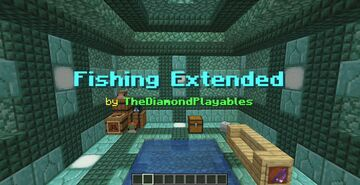 Minecraft Fishing with 119 Fishable Items! [1.17x] Minecraft Data Pack