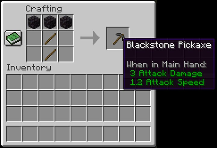 Blackstone Pickaxe