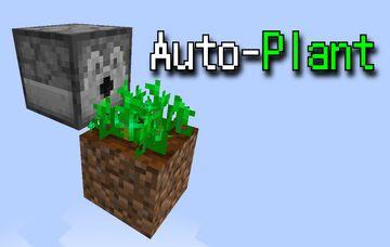 Auto-Plant Minecraft Data Pack