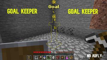 Minecraft Goal Keeper. Minecraft Data Pack