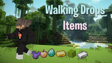 Minecraft but walking drops items Minecraft Data Pack