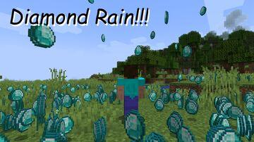 Raining Diamonds! Minecraft Data Pack