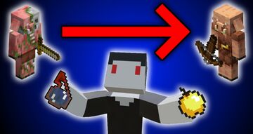 Zombified Piglin Curing Minecraft Data Pack