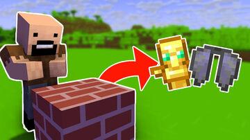 Minecraft but Bricks Drop Op Loot (inspired by boosfer) Minecraft Data Pack