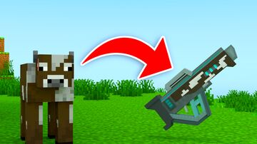 Minecraft BUT you can convert MOBS to WEAPONS Minecraft Data Pack