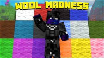 Wool Madness Minecraft Data Pack