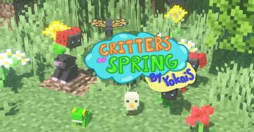 Critters of Spring! Minecraft Data Pack