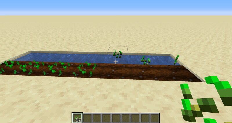 Automated planting- just throw the crop on its appropriate farmland and wait a couple seconds for it to plant itself.