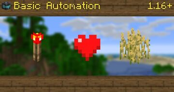 Chimerabot's Basic Automation | 1.17+ Minecraft Data Pack