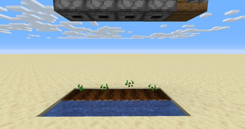 Turn on auto-orienting items to make automatic farms twice as easy to operate.