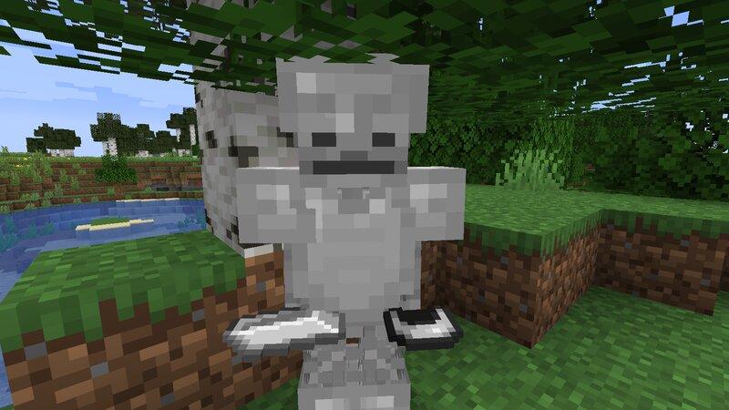 This is the armorsmith skeleton.