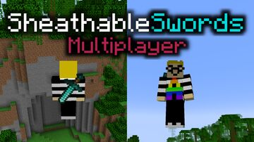 Sheathable Swords! (Multiplayer Edition!) [FINALLY!] Minecraft Data Pack
