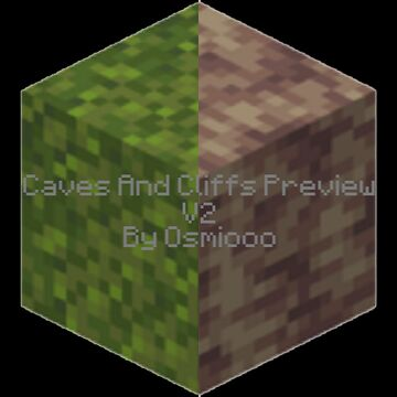 Caves And Cliffs Preview V2 Minecraft Data Pack