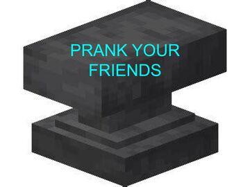 Falling Anvil Prank Data pack Minecraft Data Pack