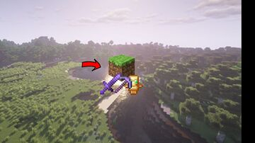 Minecraft but dirt gives op items.. Minecraft Data Pack