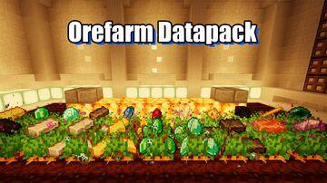 Ore Farm 1.17 Minecraft Data Pack