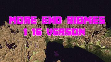 More End Biomes 1.16 Version Minecraft Data Pack
