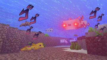 Menacing Axolotls Minecraft Data Pack