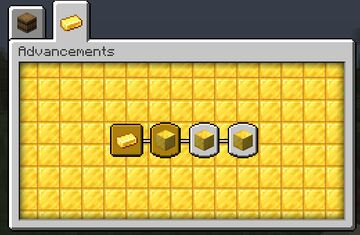 Gold Chapter Pack Minecraft Data Pack