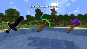 Extra Vanilla Equipment Minecraft Data Pack