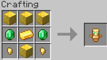 totem of undying crafting Minecraft Data Pack