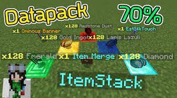 itemmerge Minecraft Data Pack