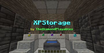 XPStorage: Store EXP to items and back! Minecraft Data Pack