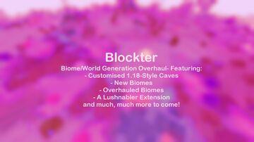 Blockter - Biome/World Overhaul - Beta Minecraft Data Pack