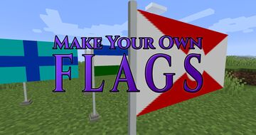 Make Your Own Flags! Minecraft Data Pack