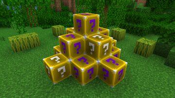 Minecraft Lucky Blocks Datapack for 1.16+ Minecraft Data Pack