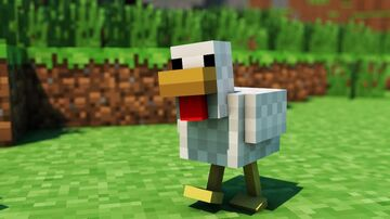 Chicken Drop Gives You A Food And Netherite Minecraft Data Pack