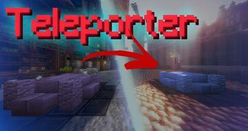Teleporter in Minecraft Vanilla Minecraft Data Pack
