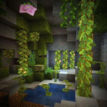 Lush Cave Block Craftings Datapack Minecraft Data Pack