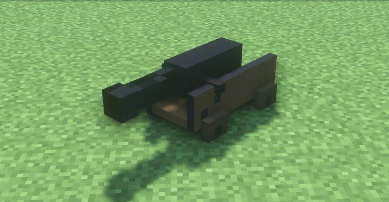 A broken cannon.