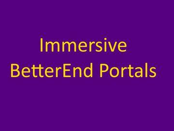 Immersive BetterEnd Portals Minecraft Data Pack