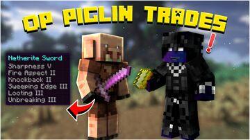 OP Piglin Trading Minecraft Data Pack