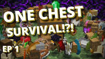 One Chest Survival - Skyblock Challenge Datapack Minecraft Data Pack