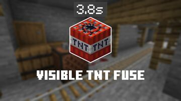 Visible TNT Fuse Minecraft Data Pack