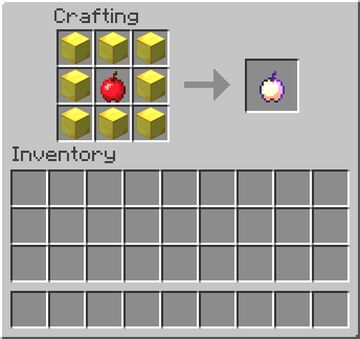 Enchanted Golden Apple Craftable Again Minecraft Data Pack