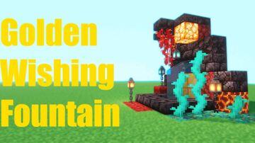 The Golden Wishing Fountain Minecraft Data Pack