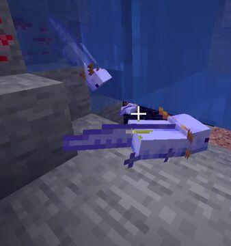 Axolotls Are Blue Minecraft Data Pack