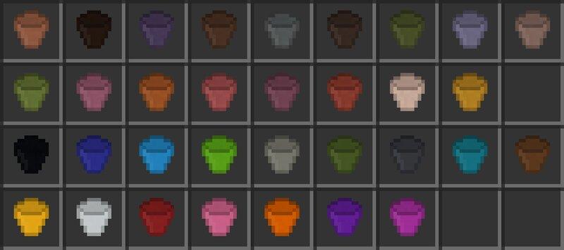 All flower pot items