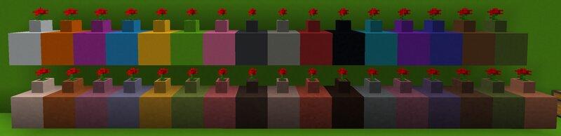 All flower pot blocks