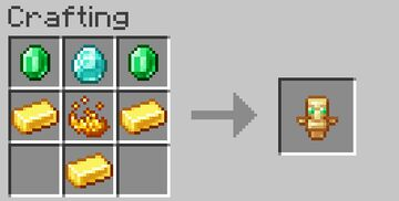 Totem of Undying crafting [Datapack] Minecraft Data Pack