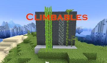 More Climbable Blocks Minecraft Data Pack