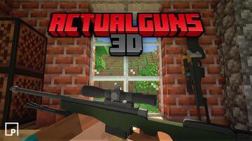 ActualGuns 3D - Minecraft Bedrock Add-on Minecraft Mod