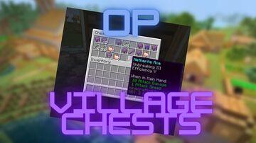 OP Village Chest Minecraft Data Pack