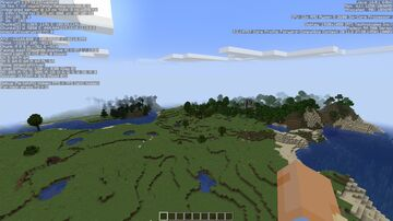 Minecraft but the worldspawn is massive Minecraft Data Pack