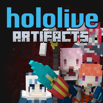 Hololive Artifacts - Weapons and More Minecraft Data Pack